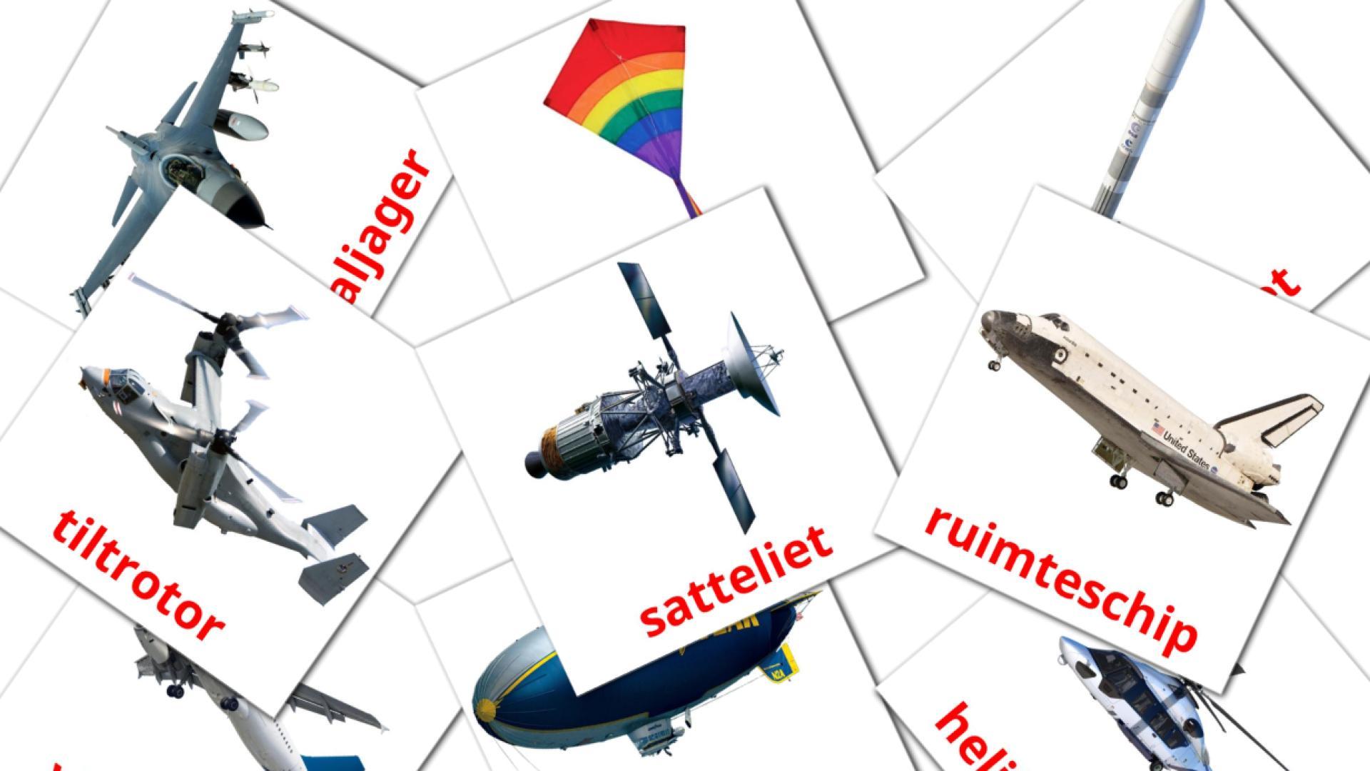 Aircraft flashcards