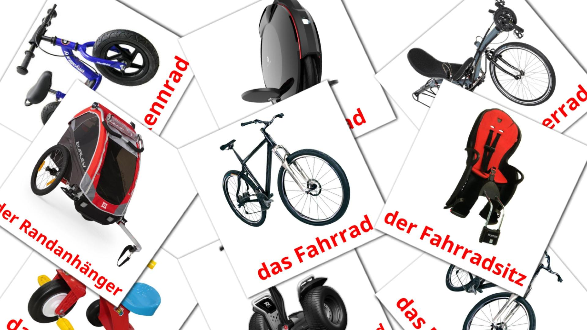 Bicycle transport flashcards