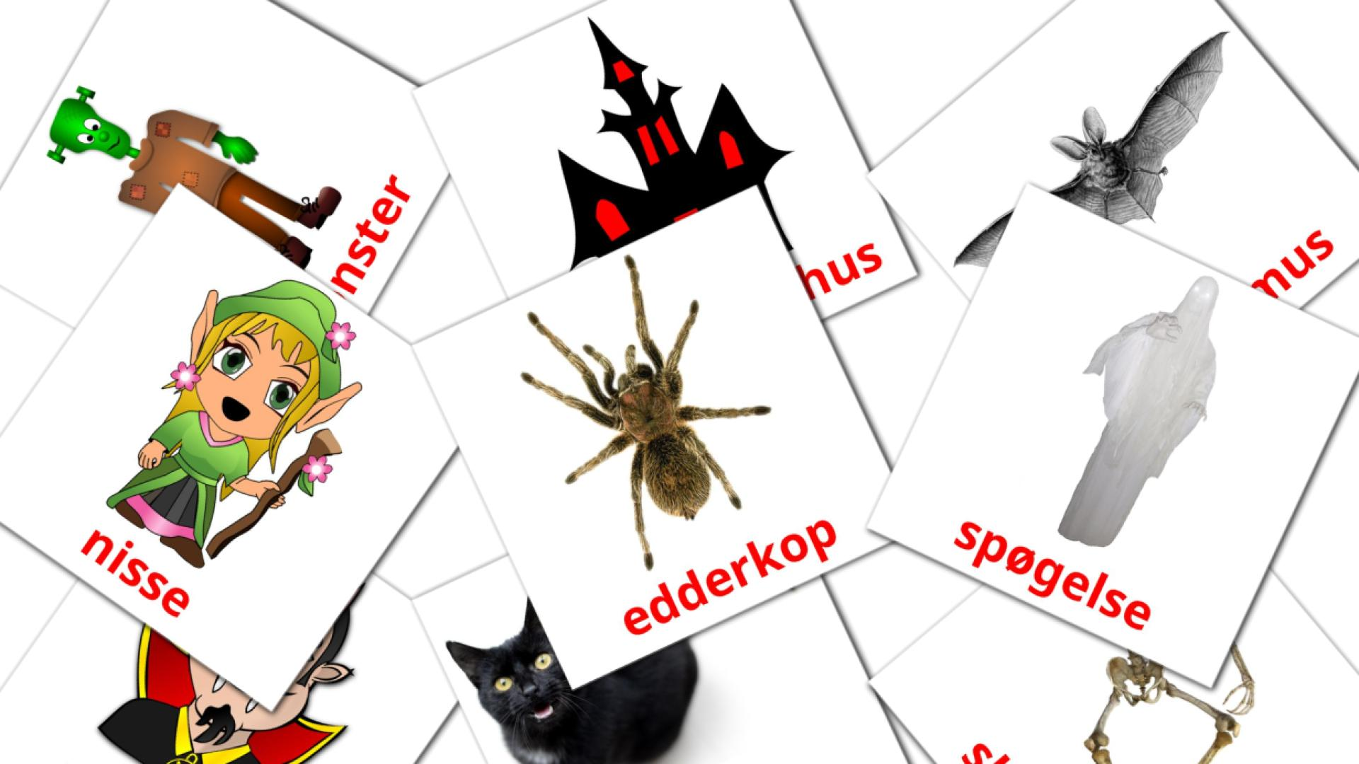 Halloween flashcards