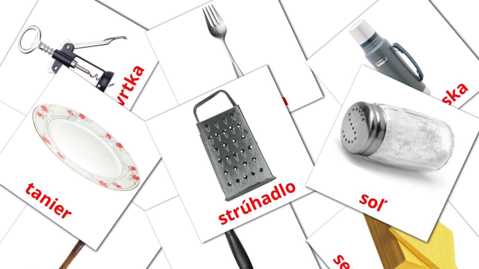 Kitchen flashcards