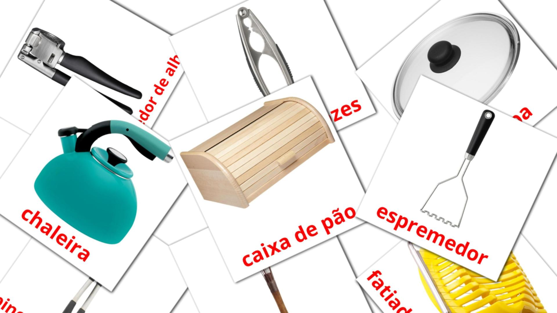 Kitchenware flashcards