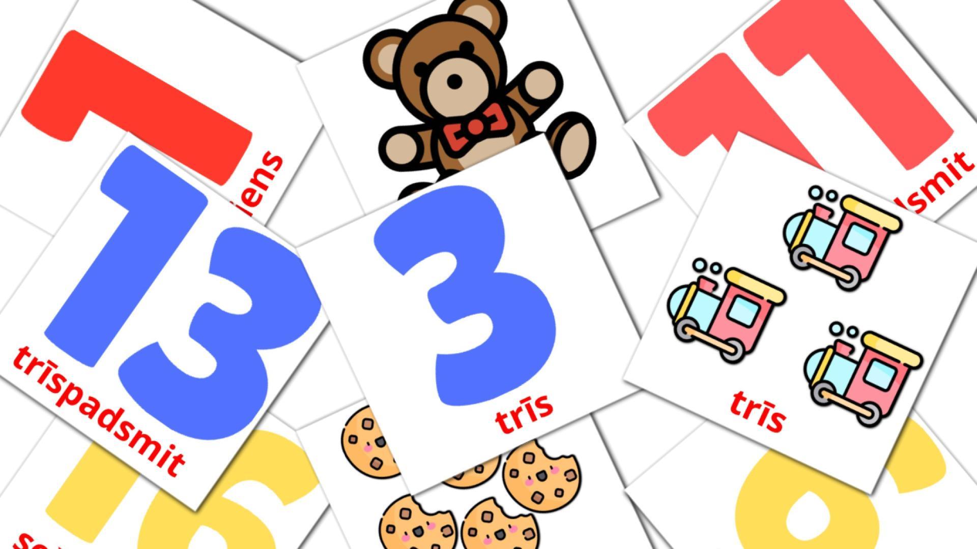 Math flashcards
