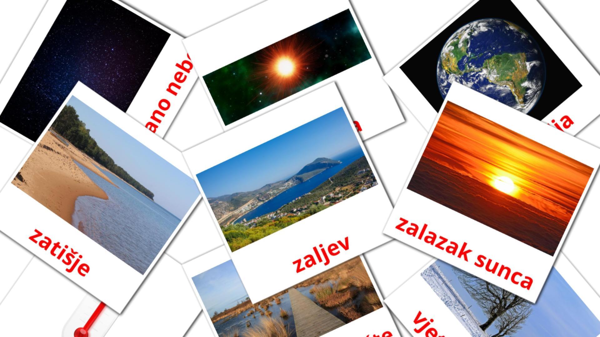 Nature flashcards