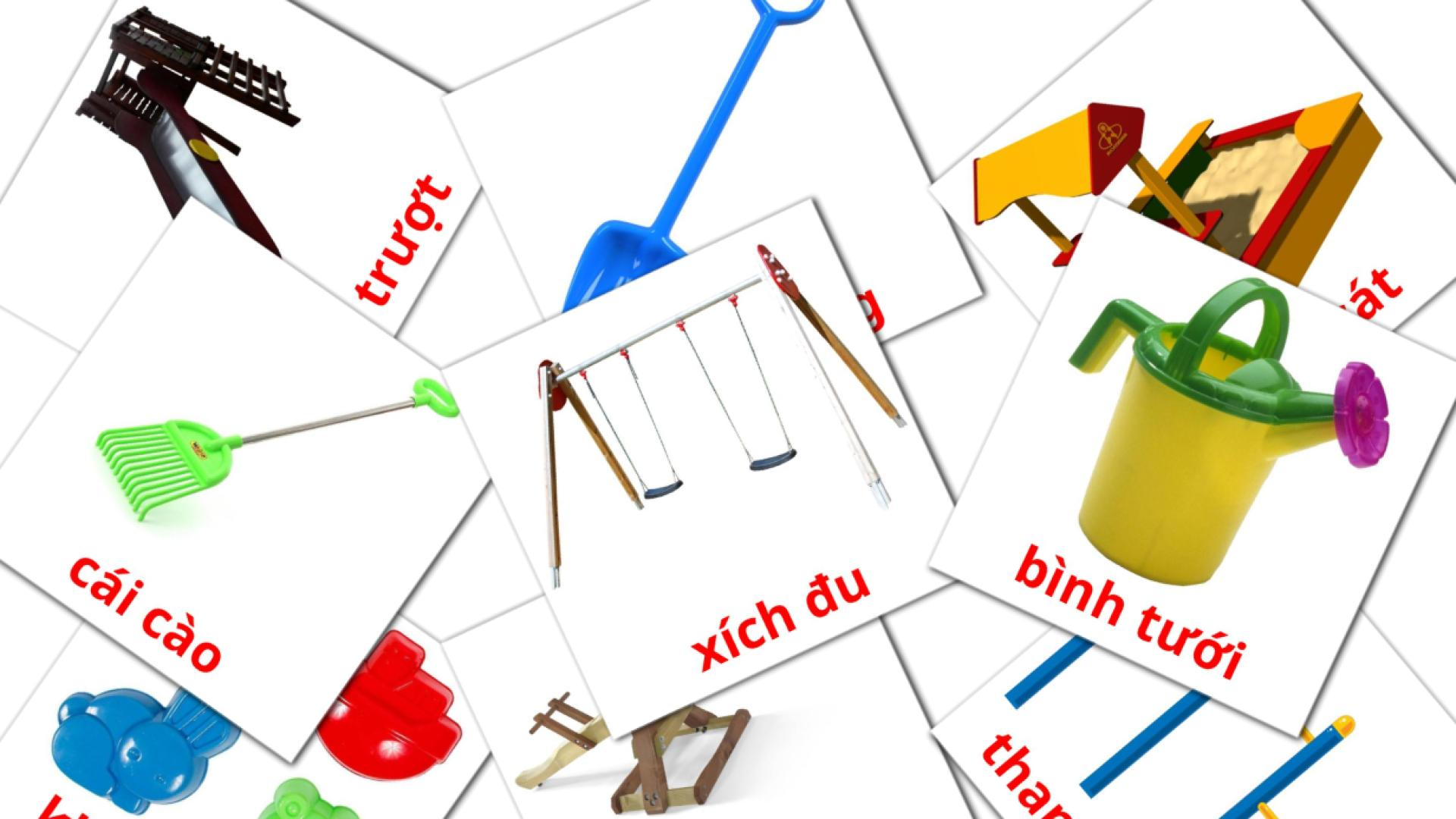 Playground flashcards