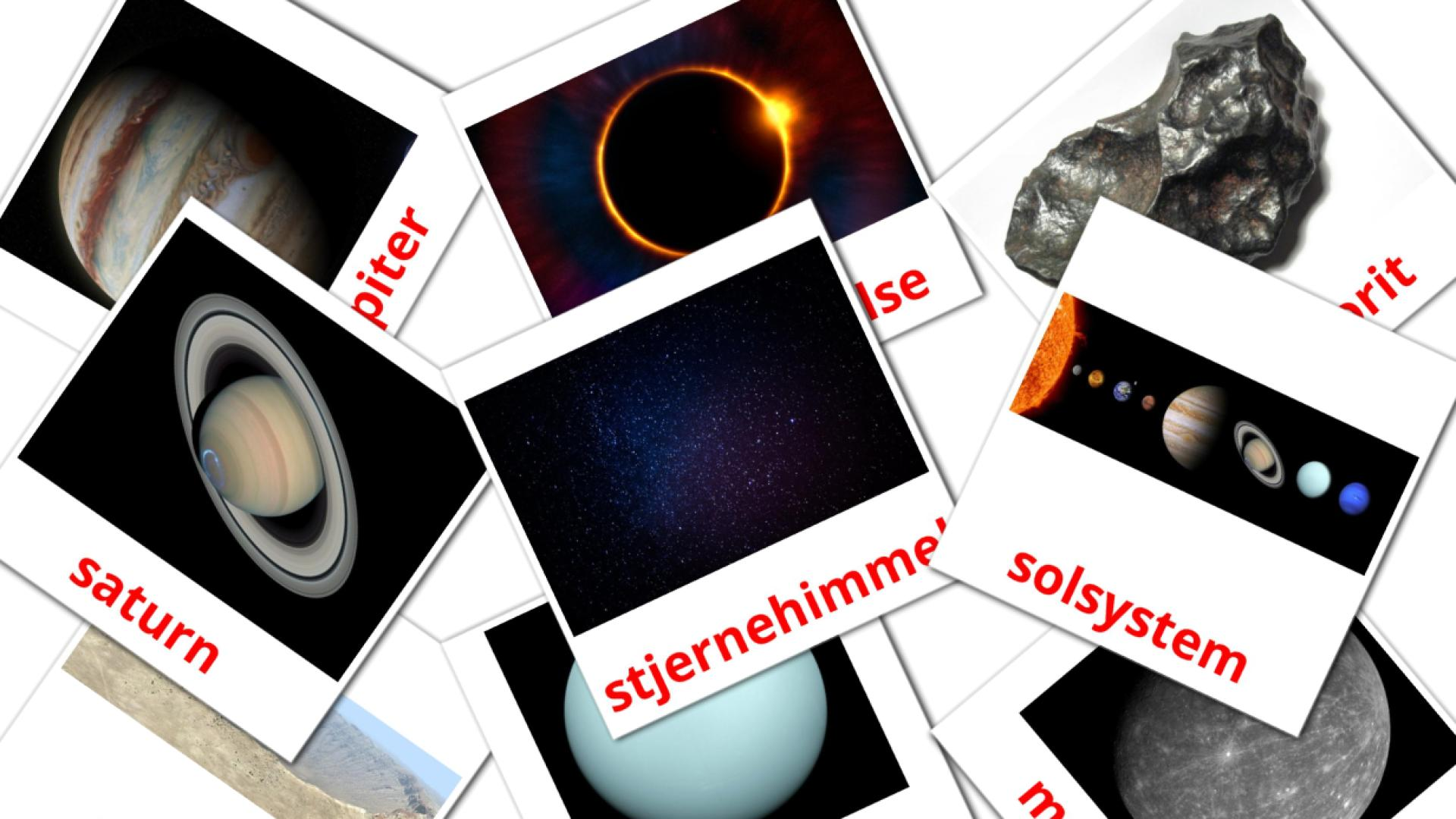 Solar System flashcards