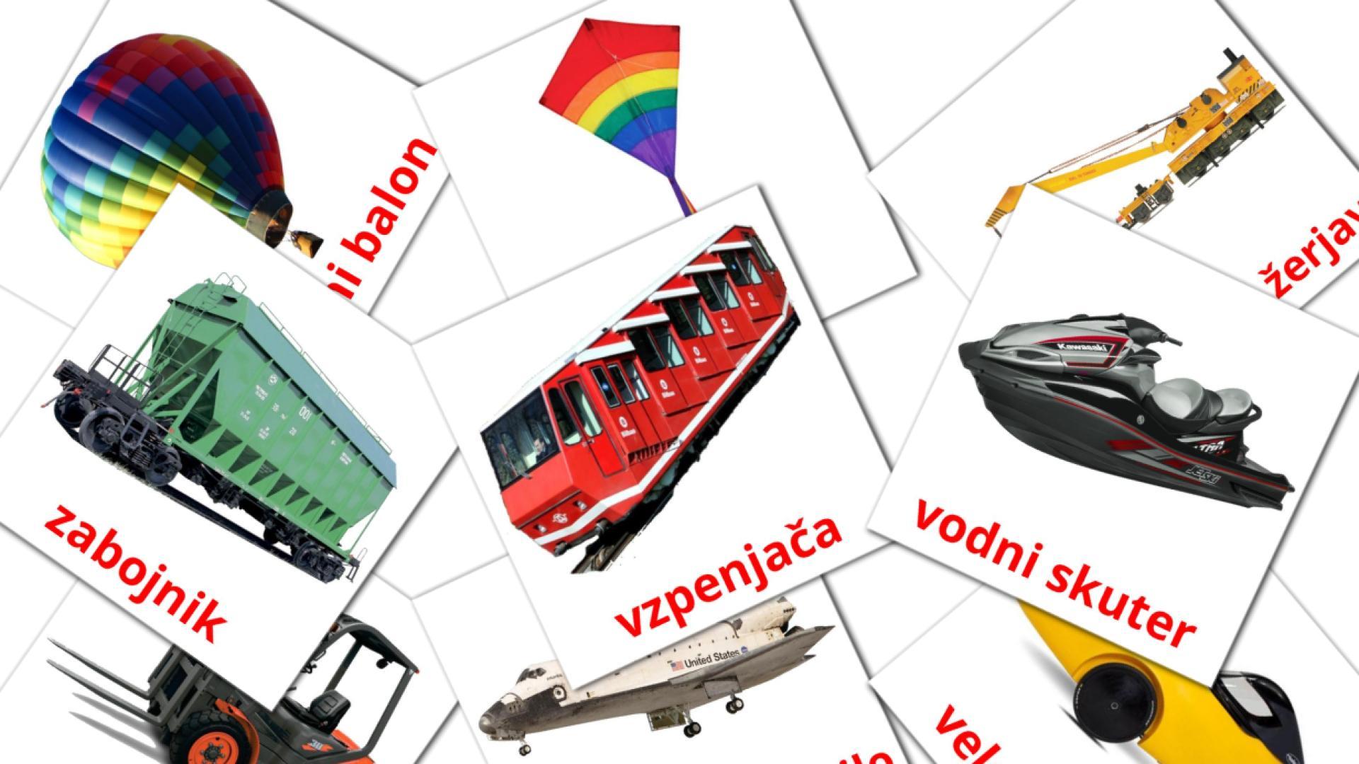 Transport flashcards