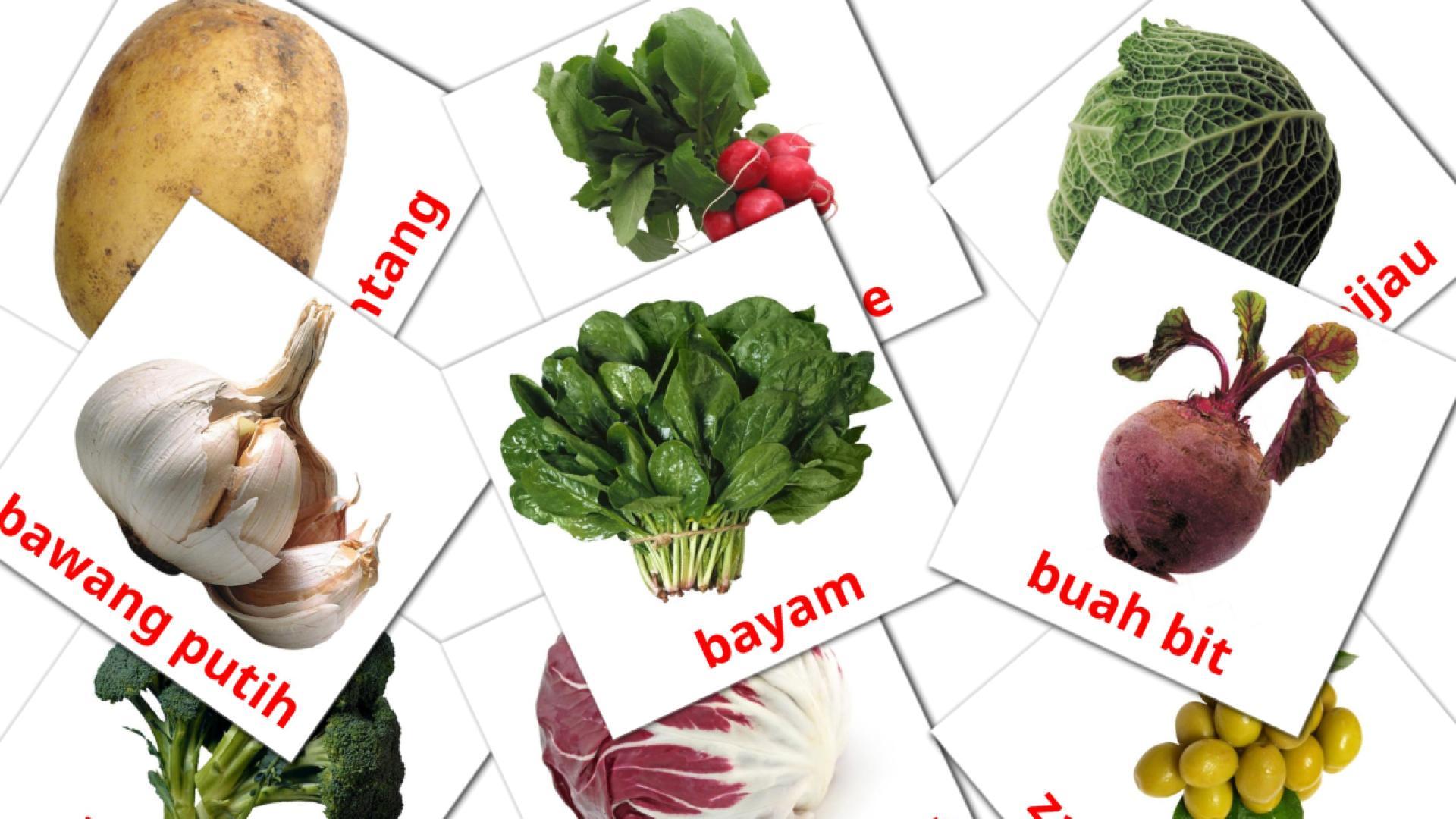 Карточи Домана Овощи