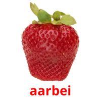 aarbei picture flashcards