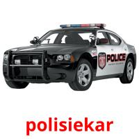 polisiekar picture flashcards