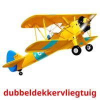 dubbeldekkervliegtuig picture flashcards