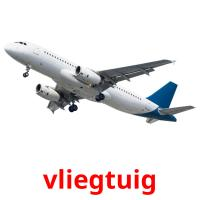 vliegtuig picture flashcards