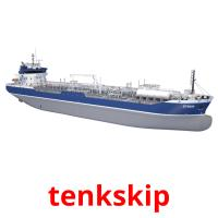 tenkskip picture flashcards