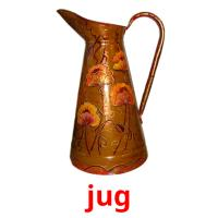 jug picture flashcards