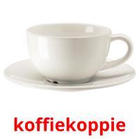 koffiekoppie picture flashcards