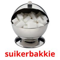 suikerbakkie card for translate