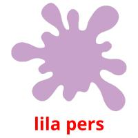 lila pers picture flashcards