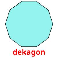 dekagon picture flashcards