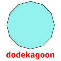 dodekagoon picture flashcards