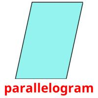 parallelogram picture flashcards