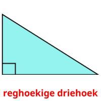reghoekige driehoek picture flashcards
