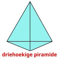 driehoekige piramide picture flashcards