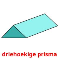 driehoekige prisma picture flashcards
