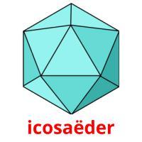icosaëder picture flashcards
