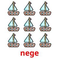 nege picture flashcards