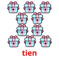 tien picture flashcards