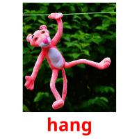 hang picture flashcards