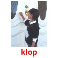 klop picture flashcards