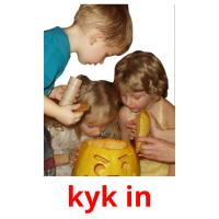kyk in picture flashcards