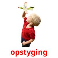 opstyging picture flashcards
