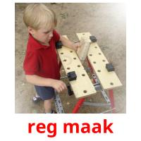 reg maak picture flashcards