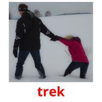 trek picture flashcards