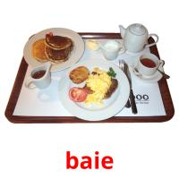 baie picture flashcards