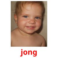 jong picture flashcards