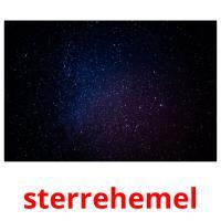 sterrehemel picture flashcards