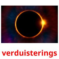 verduisterings picture flashcards