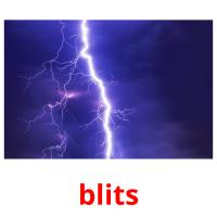 blits picture flashcards