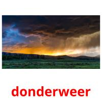 donderweer picture flashcards