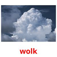 wolk picture flashcards