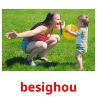 besighou picture flashcards