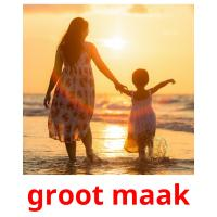 groot maak card for translate