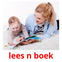 lees n boek picture flashcards