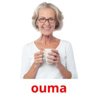 ouma picture flashcards