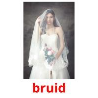 bruid picture flashcards