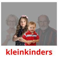 kleinkinders picture flashcards