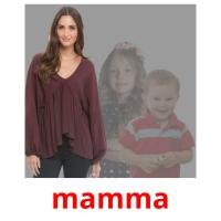 mamma picture flashcards