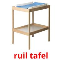ruil tafel picture flashcards